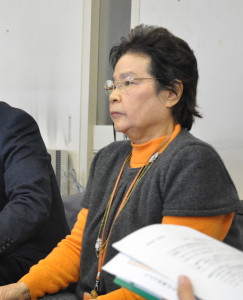 記者会見の加藤さん