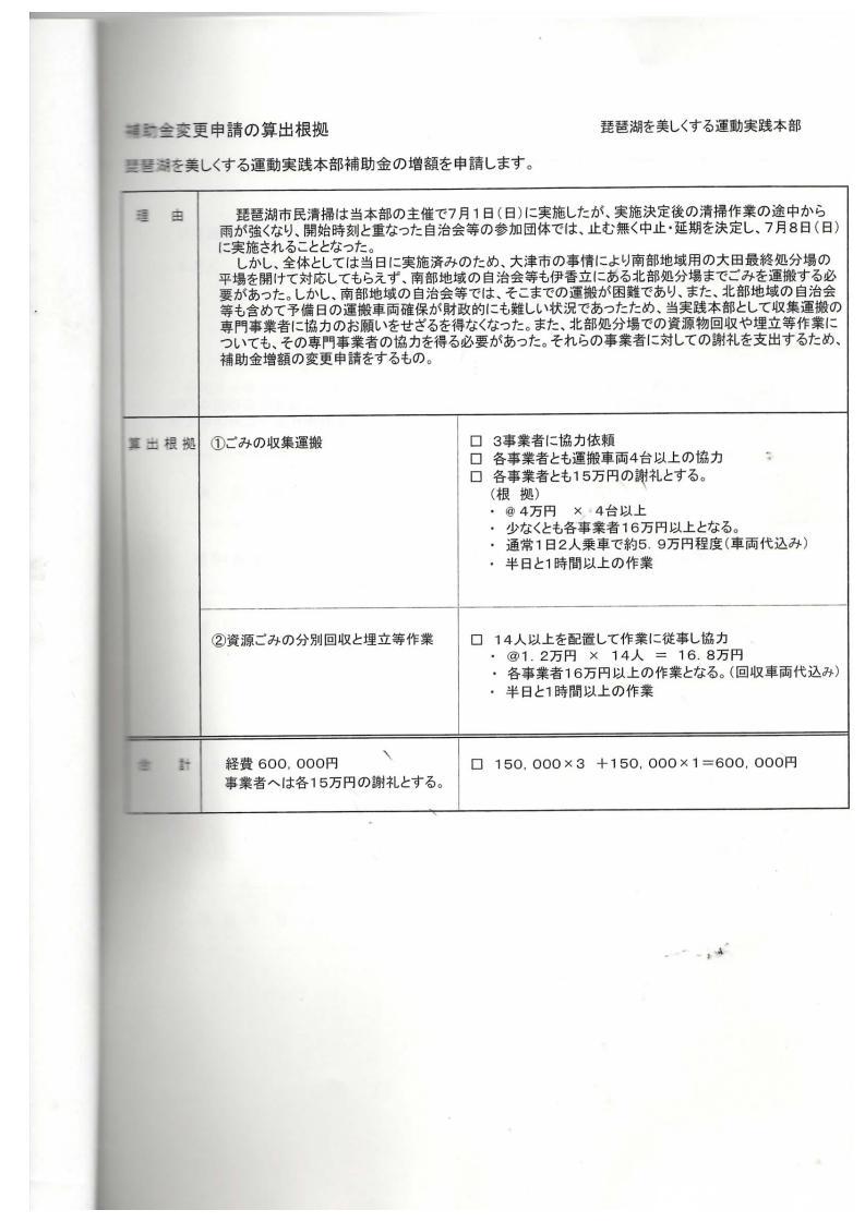 琵琶湖一斉清掃/H24年補助金変更算出根拠_01